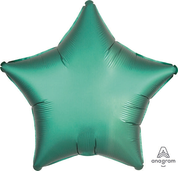 Seafoam Green Satin Star Balloon
