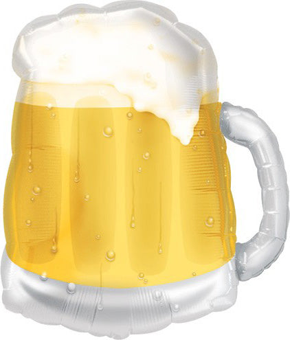Giant Beer Mug See Thru Balloon