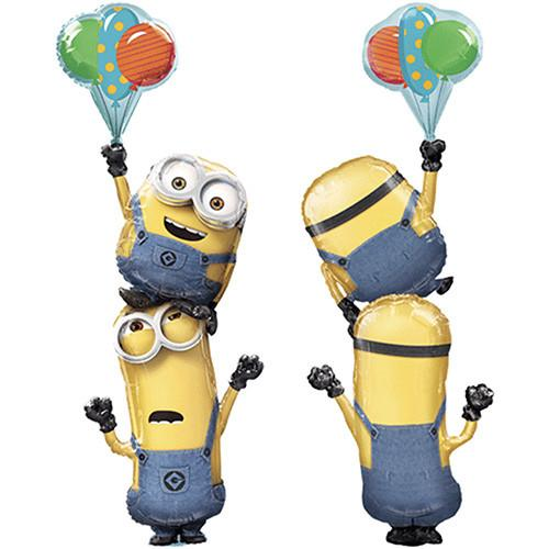 Minions Despicable Me Giant Stacker Multi - Foil Balloon 75""