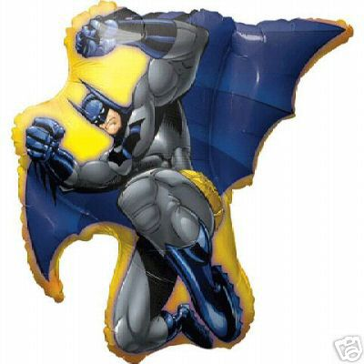 Batman in Action Birthday Balloon