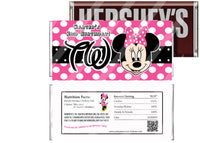 Hot pink minnie 2nd birthday party favors