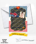 Superman Birthday Thank You Card