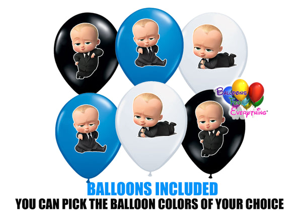 The Boss Baby Balloons