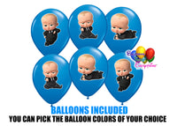 The Boss Baby 1st Birthday Balloons