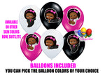 Pink Boss Baby Girl Birthday Balloons