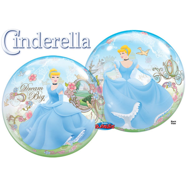 Princess Cinderella Dream Big Bubble Balloon