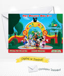 Disney Mickey Clubhouse Invitations