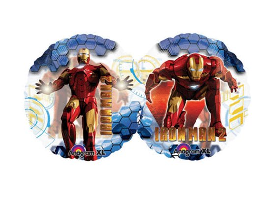 "26"" Iron Man 2 See Thru Birthday Balloon"
