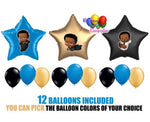 African American Boss Baby Balloons