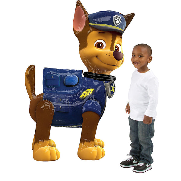 "Paw Patrol Chase 54"" Airwalker Birthday Balloon"