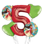 Princess Elena of Avalor 5th Birthday Balloons Bouquet