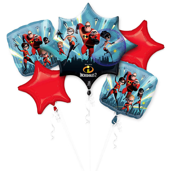 The Incredibles 2 Balloon Bouquet 5pc