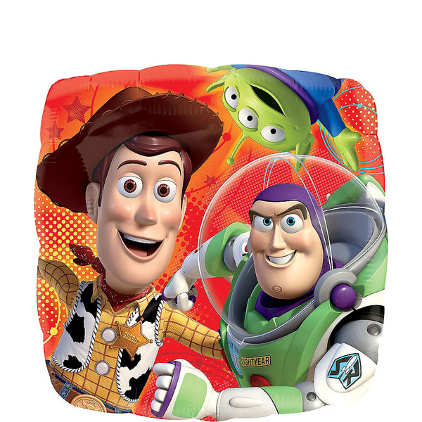 Buzz & Woody Birthday Balloon Toy Story