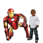 "Iron Man 46"" Airwalker Birthday Balloon Avengers"
