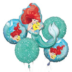 The Little Mermaid Ariel Balloon Bouquet