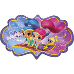 Giant Shimmer and Shine Birthday Balloon
