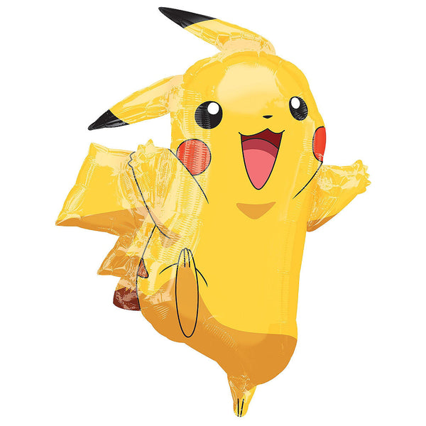 Pokemon Pikachu Birthday Balloon