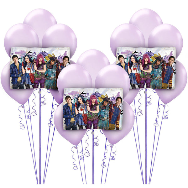 Disney Descendants 2 Birthday Balloons 18pc