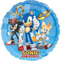 Sega Sonic the Hedgehog Party Balloons