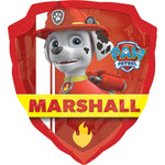 Paw Patrol Marshall and Chase Birthday Balloon