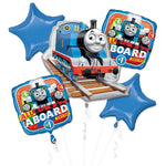 Thomas the Tank Engine Birthday Balloons Bouquet 5pc