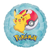 Pokemon Pikachu Ball Balloon