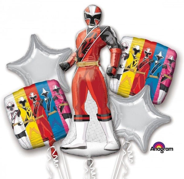 Power Ranger Ninja Steel Balloon Bouquet