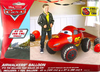 "Disney Cars Lightning McQueen 41"" Airwalker Birthday Balloon"