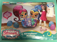"Shimmer and Shine 53"" Airwalker Birthday Balloon"