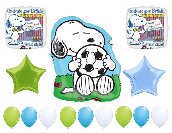 Snoopy Birthday Balloons 14pc