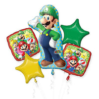 Sega Super Mario Brothers Luigi Balloon Bouquet