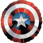 Giant Captain America Shield Balloon Avengers