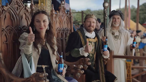 The Bud Light King and Queen