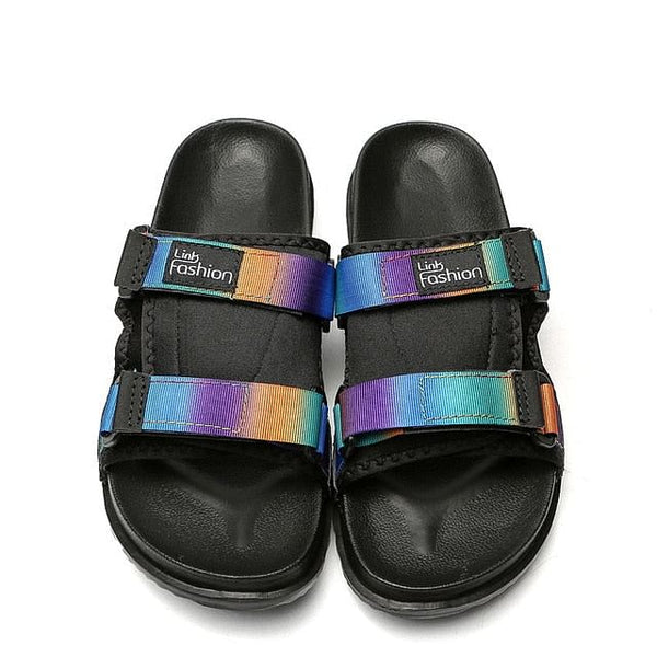 Men's Slides, Soft, Light, Men Slippers for Home or Outdoors.  Beach, Summer, Slide Slipper for 2020 Fashion, Indoor / outdoor  Shoes, Big Sizes included, Here @ We On 1's, The Jazzi Spot!