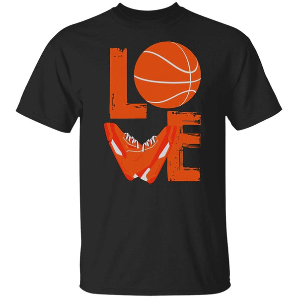 Love, Basketball, Shoes, Mens Limited Editions 2020, Black T-Shirt,  M-Xxxl Funny Tee Shirt, @ We On 1's, The Jazzi Spot!