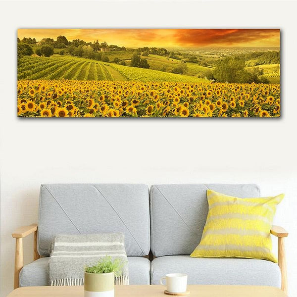 GoldLife HD Printing,  Landscape Canvas Painting of San Francisco's Golden Gate Bridge,  Sunset Art, Home Decor Wall Poster Picture's @ The Jazzi Spot Boutique!
