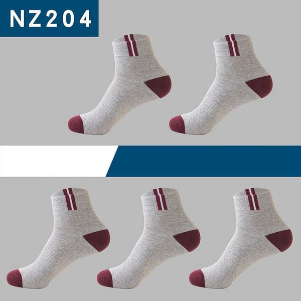 5pair Of Men Socks,  Classic,  Business Brand Socks For Men,  Quality Breathable Cotton, Casual Socks up to Sz 9, 39 - 43EU Here @ The Jazzi Spot Boutique!