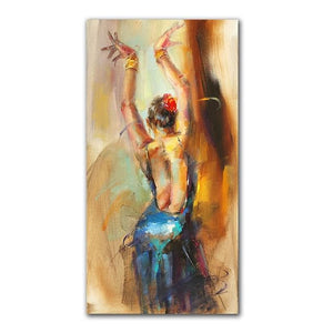 Modern Wall Art,  Canvas Paintings,  Dance Girl Posters And Prints,  Beautiful Women Canvas Art, Prints For Living Room, Here @ The Jazzi Spot Boutique!