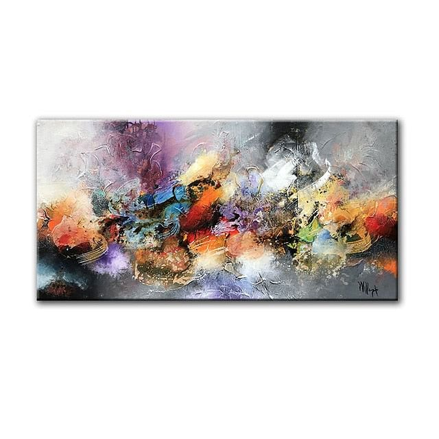GoldLife Painting on Canvas,  Abstract Wall Art,  Picture HD Modern Home Decor,  Living Room,  Bedroom Decorative Painting, sold here @ The Jazzi Spot Boutique!