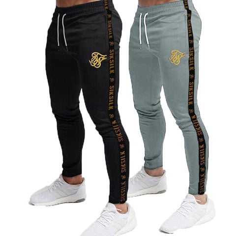 Mens Joggers Sweatpants, Silk Fitness. Elastic Trousers, Hip Hop Skinny Tracksuit, Here @ The Jazzi Spot Boutique!