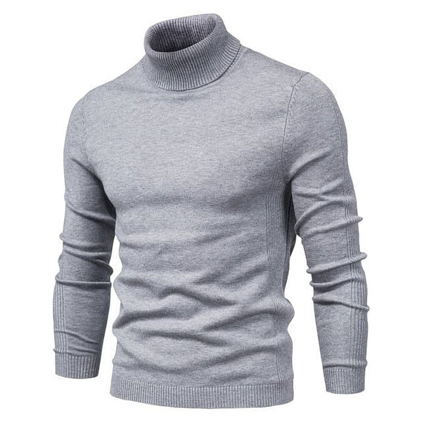 New Winter Turtleneck Thick Mens Sweaters, Casual Solid Colors, Quality, Warm, Slim Pullover for Men, Wm's Sizes in chart @ The Jazzi Spot Boutique!
