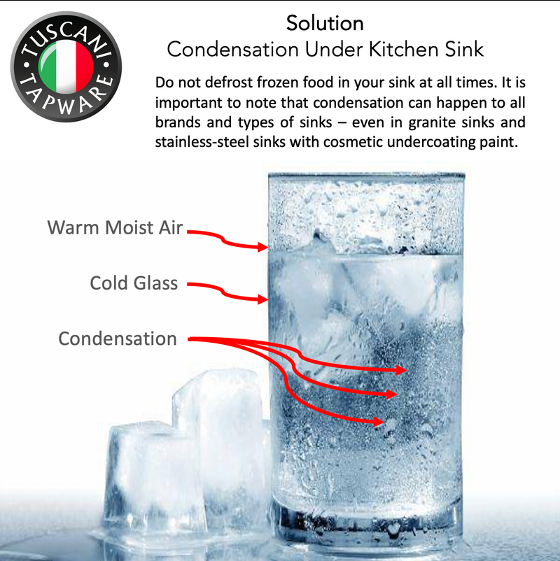 Understanding of Condensation Under Kitchen Sink