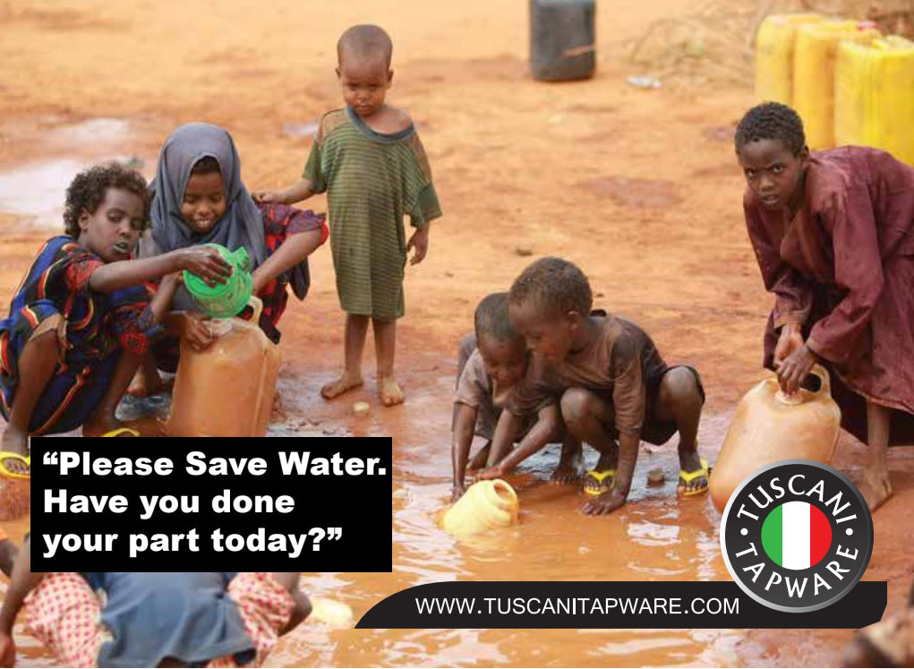 Please Save Water. Have you done your part today?