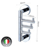 C1SH - COLOSEO Series Swing Hook - Bathroom Accessories