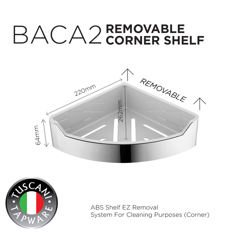 BACA2 - Removable Corner Shelf Series - Bathroom Accessories