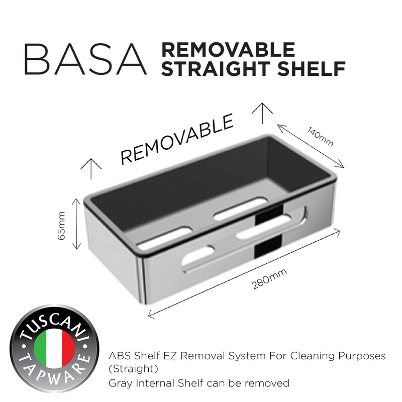 BASA - Removable Shelf Series - Bathroom Accessories