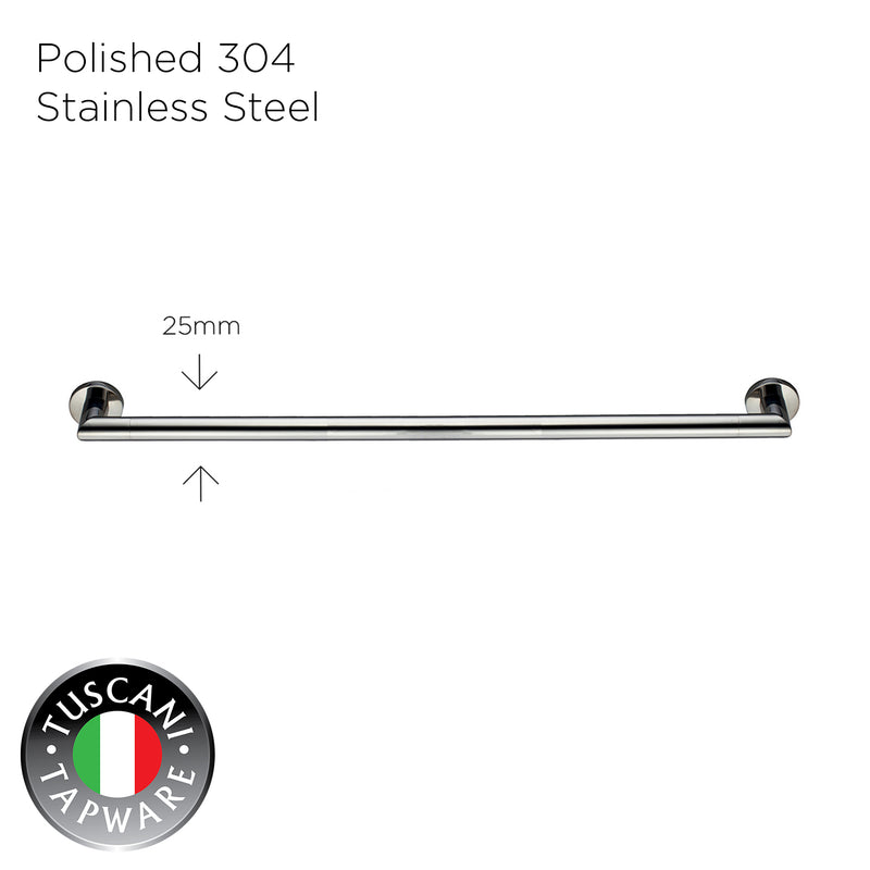 C6SB - COLOSEO Series Single Towel Bar - Bathroom Accessories
