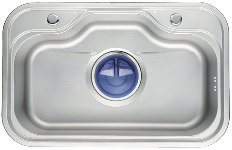 K22 - Top & Under-Mount Use Kitchen Sink