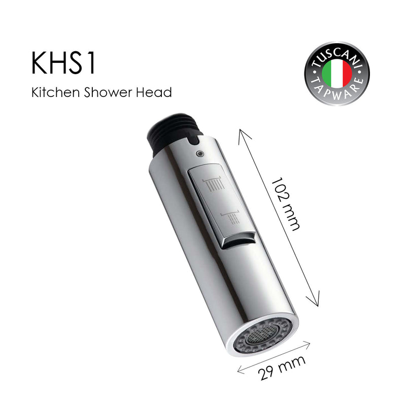 KSH1 - Kitchen Shower Head - Replaceable Parts