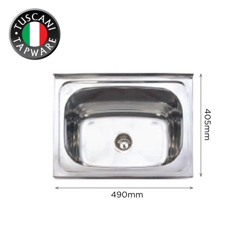 L490 - Wall Mounted Kitchen Sink